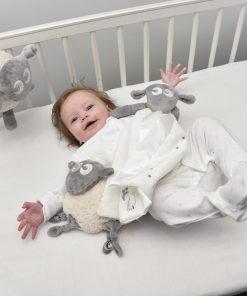 Baby med Sovepakken Deluxe